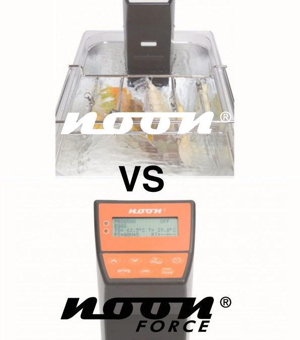 comparación entre Noon y Noon Force