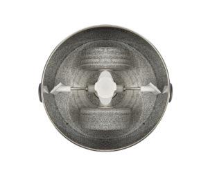 soporte de doble pala Twin Stones montado en el tambor