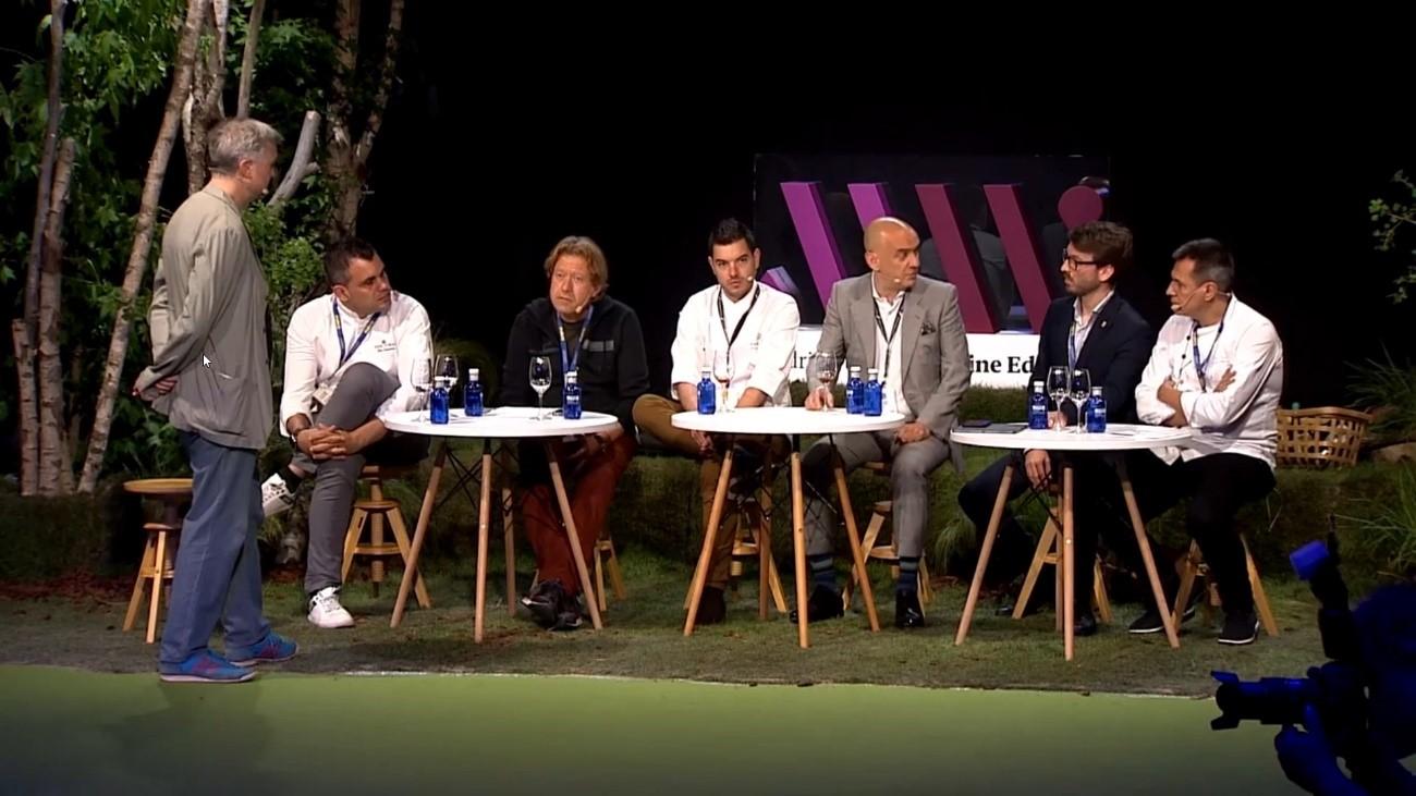 panel de expertos - cata de vino desalcoholizado en Madrid Fusión 2021