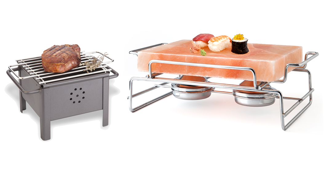 Individual Stone Charcoal Barbecue Grill ')