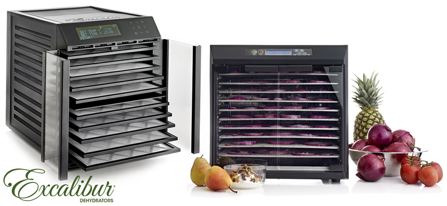 Excalibur Dehydrator With Double Cycle and Double Chamber')