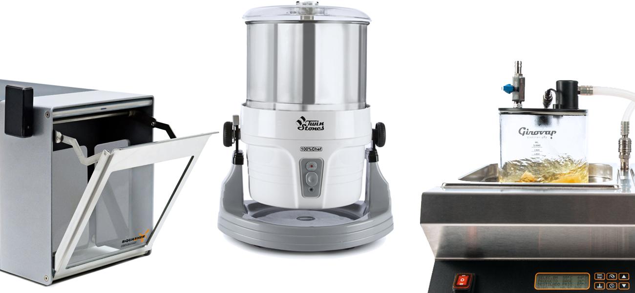 Squasher - Twin Stones - Girovap - OCOO - 100%Chef Exclusive machines')