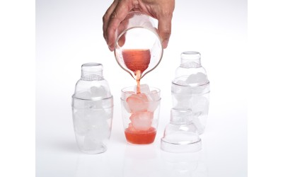 Coctelera Mini Transparente