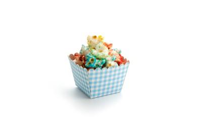 Blue Mini Brownie Box