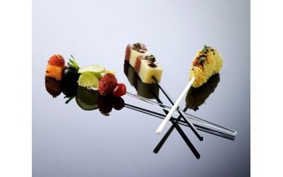 "Brochette courte ""gamme hola"" x1000 pc"