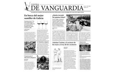 Papier journal alimentaire «Cocina de Vanguardia» x 500 PC