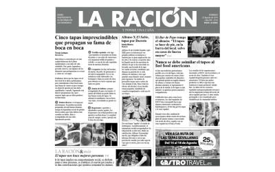 Papel periódico Parafinado 'La Ración'