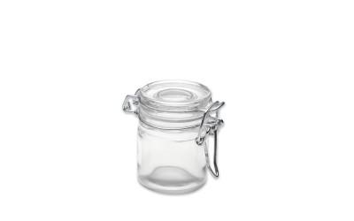 Petit pot en verre hermétique x 72