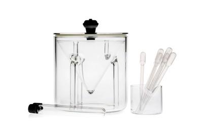 kit de distillation sous vide pour micro-ondes
