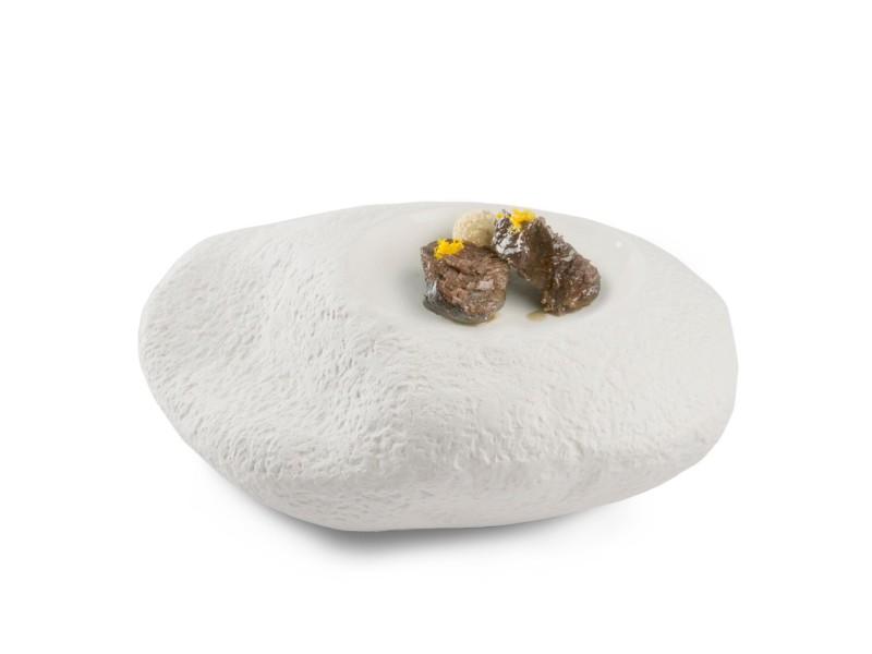 Plato de porcelana Big Rock