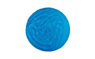 Assiette en verre Caribéen Bleu Ø29 cm