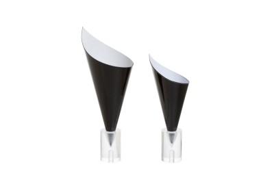 Cones cartonnés noir XS