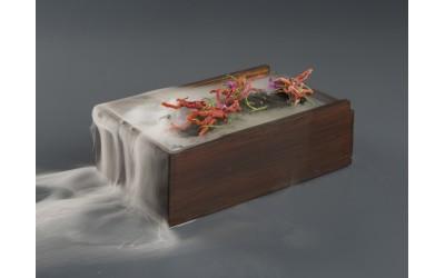 Caja de madera Corfú