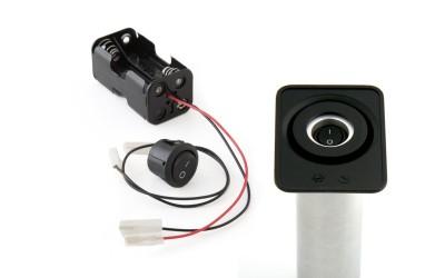 Bloc pile - interrupteur - câbles Super Aladin ou Aladin 007