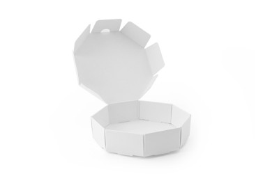 Mini Ensaimada Box - 100 pcs