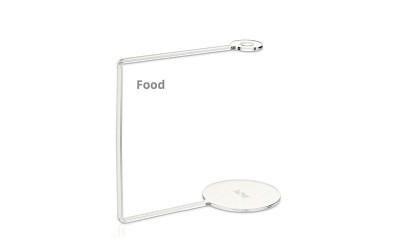 VOM Acrylic Holders Food - 10 pcs