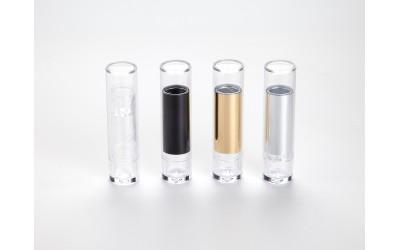 Lipsticks transparent mit Deckel (100 Stk.)