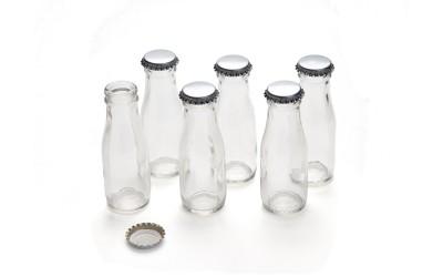 Mini Wermut-Flasche