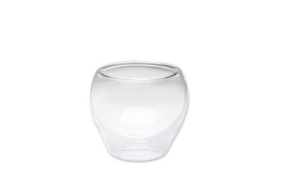 Mini Glas doppelwandig