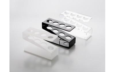 Reagenzglashalter Plexiglas für 4 Reagenzgläser