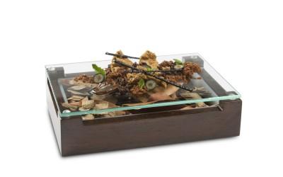 Caja de madera Skiathos
