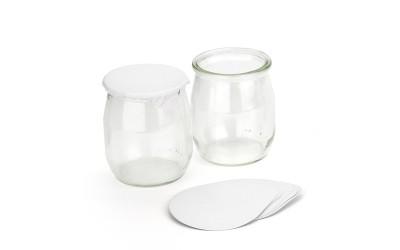 Joghurt Glas 120 ml. 192 Stück