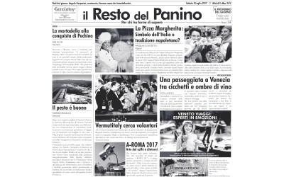 """Papel Periódico """"Il resto del Panino"""""""