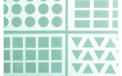 Krokanters Geometrik Stencil
