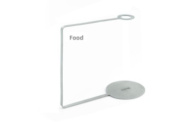 VOM Stainless Steel Holders Food - 6 pcs