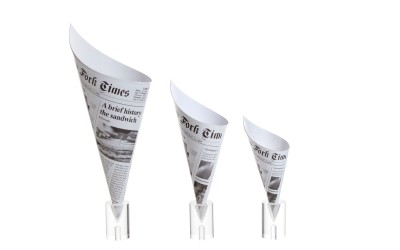 Newspaper Cones