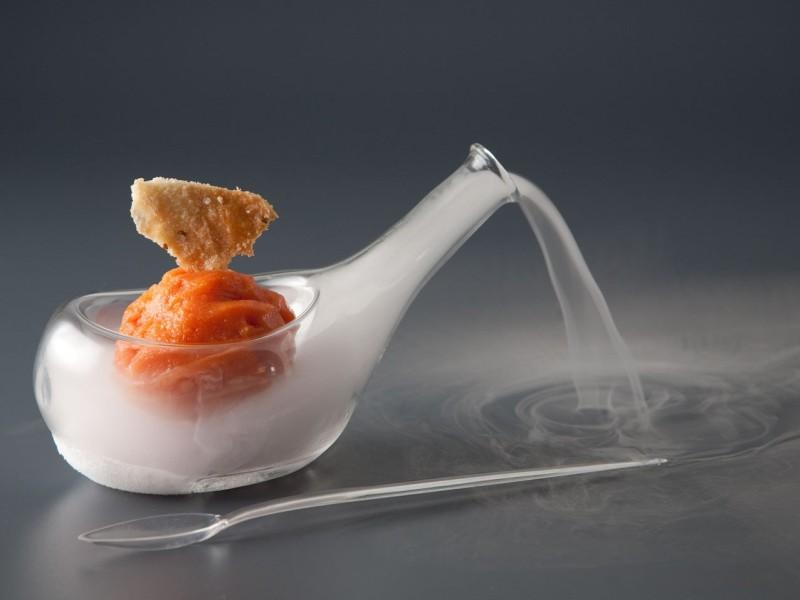 Mini Piatto da Servizio Scenico Nitro Glass