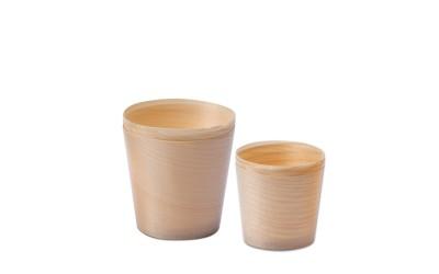 Bicchierini di legno