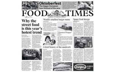 Carta Alimentare stampa Food Times