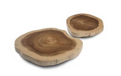 Piatto in legno di acacia