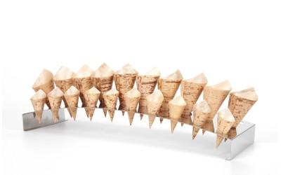 Suporte Inox para 30 Cones
