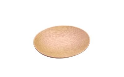 Plato Oval Bambú