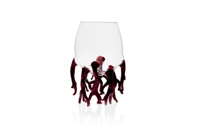 Red Coral Glass
