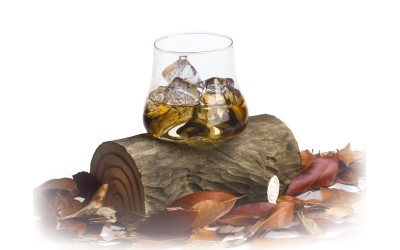Wood Trunk Glass