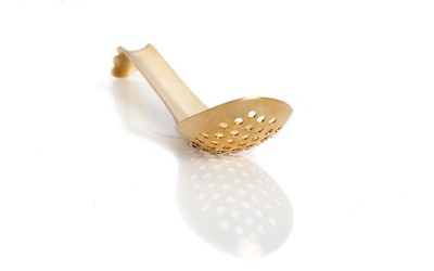 Lotus Spoon Gold