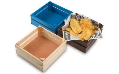 Caja de madera Mikonos Small