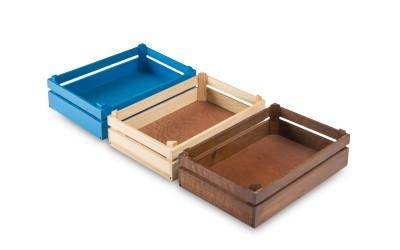Caja de madera Mikonos Large