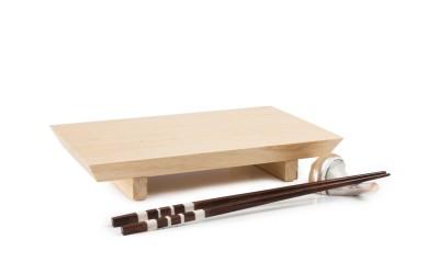 Plato de madera Ikaria